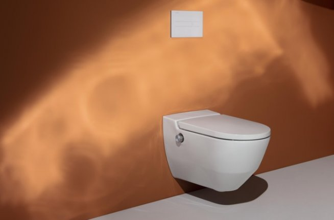 cleanet, cleanet navia, navia, shower toilet, wc, laufen